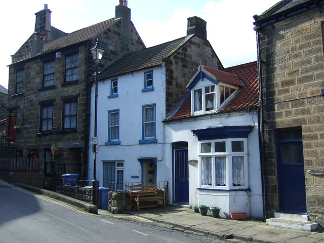 Cottages on High Street, Staithes