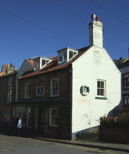 Shop on High Street, Staithes