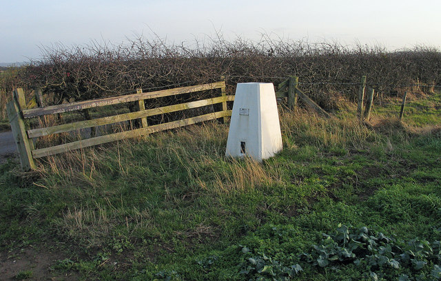 Trig point of Potato Hill