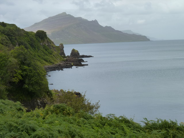 The Braes coastline