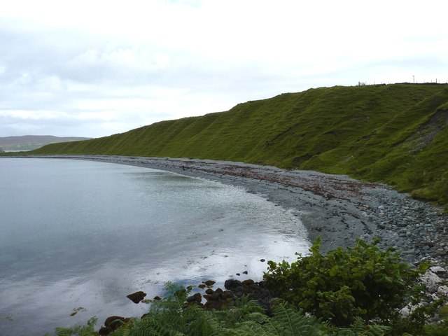 South shore of Camas a' Mhòr-bheòil