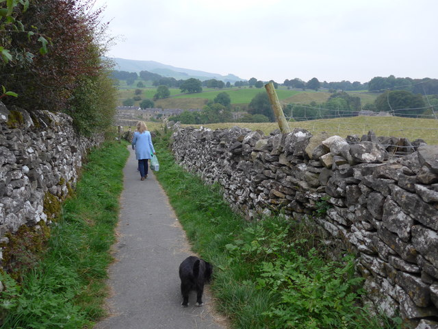 Dales Way trek from Bolton Abbey to Pinder Stile (164)