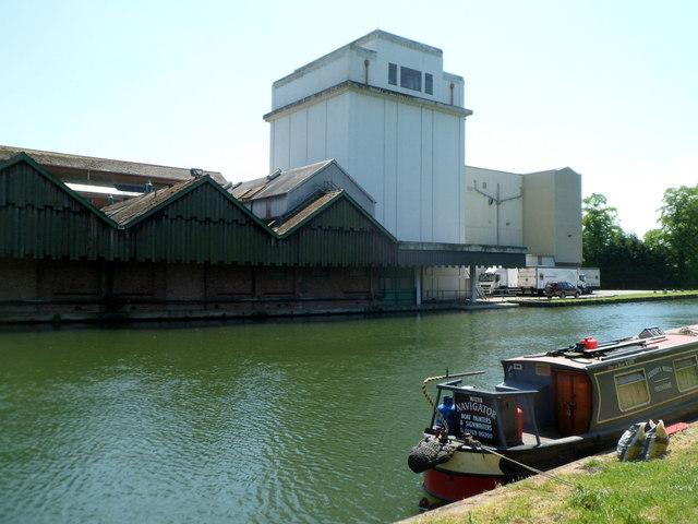 Canalside buildings near Frampton on Severn