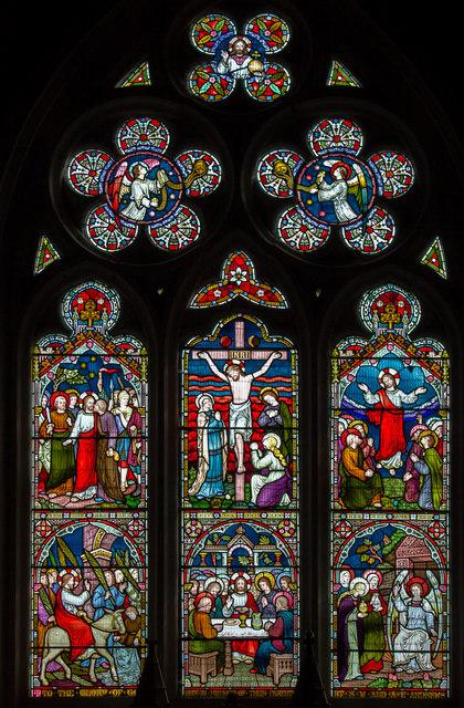 East Window, St Mary's church, Claxby