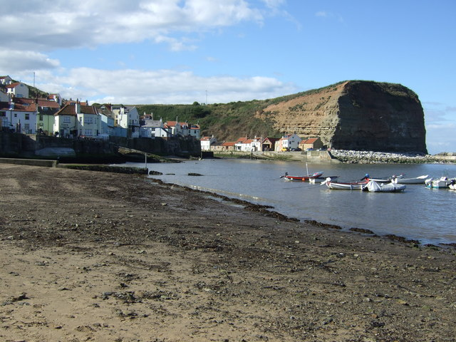 Staithes Harbour and Cowbar Nab