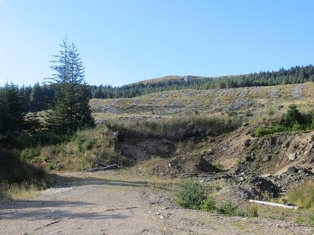 Borrow pit, Eredine Forest