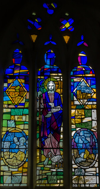 West Window, St Mary's church, Claxby