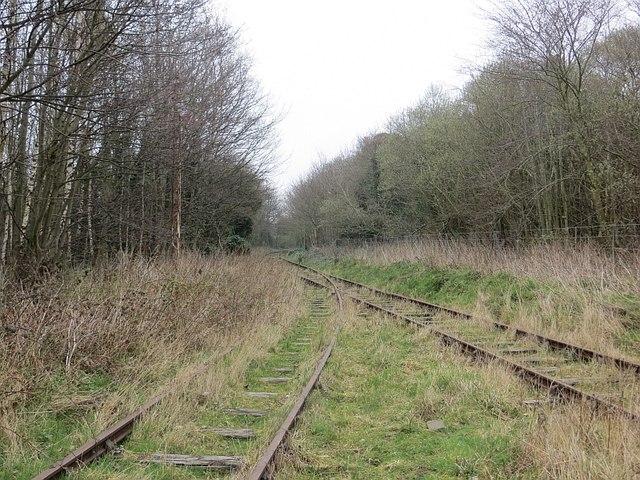 Railway tracks, Prestogrange Museum