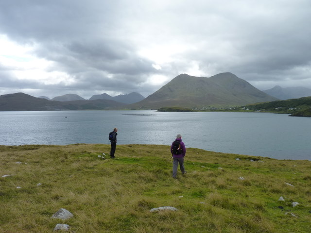 Looking from An Aird towards the Cuillin