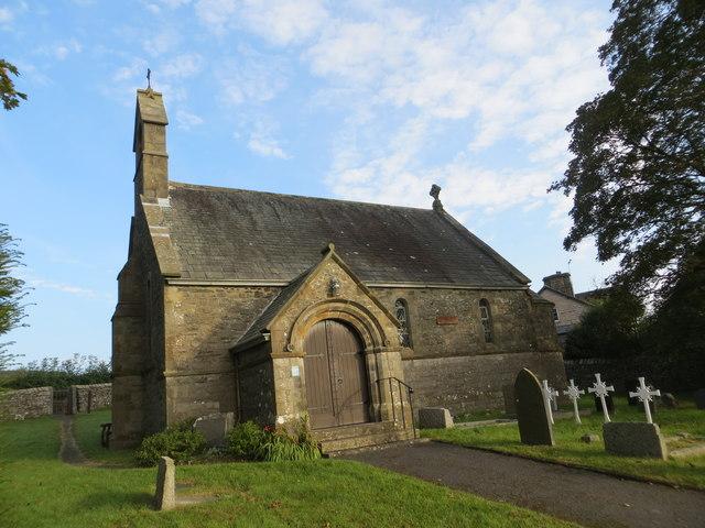 All Saints Church at Lupton