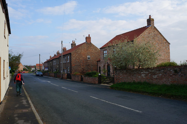 Houses on Station Road, Whixley