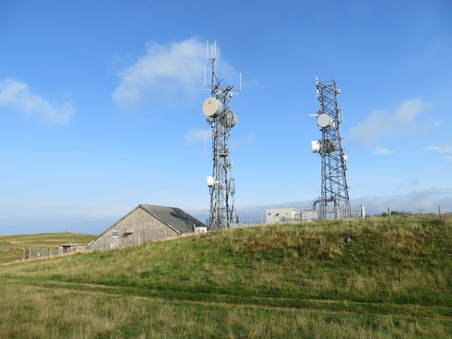 Communication Masts on Scout Hill