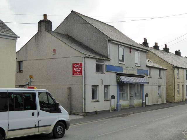 Former shop in Delabole