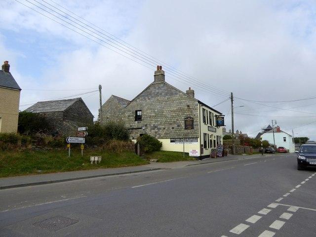 The Bettle and Chisel inn, Delabole