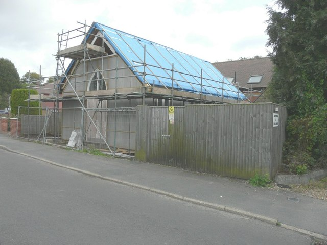 Ongoing conversion of the former Methodist church