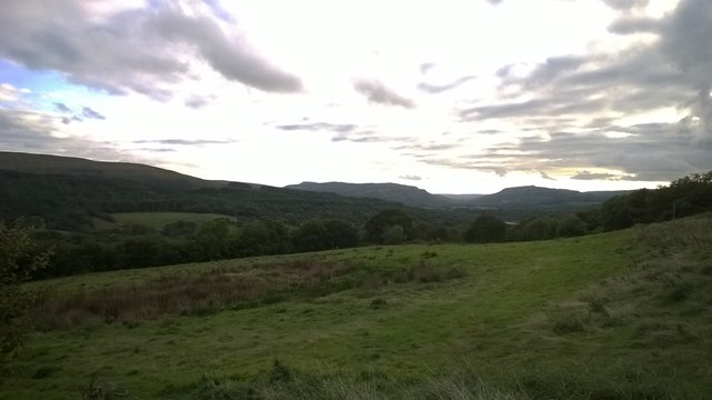 Land above Abercraf