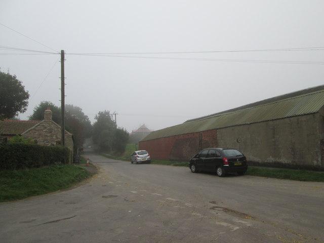 Church  Street  Huggate  toward  Driffield  Road