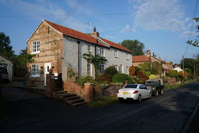 Houses on High Street, Whixley