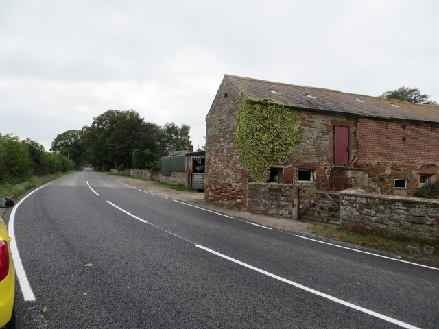 Road at Pow Bank
