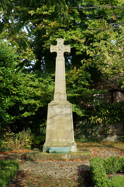 War Memorial, Whixley