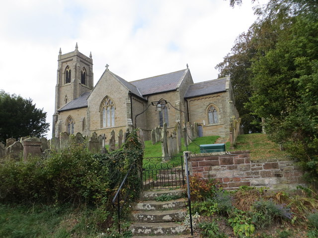 The Church of St Andrew at Thursby