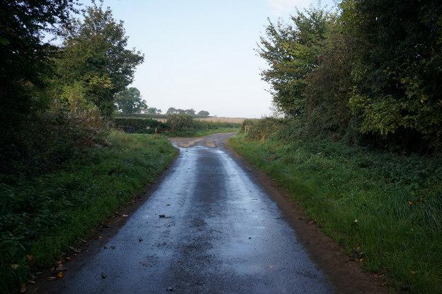 West Lane towards Starra Field Lane Whixley