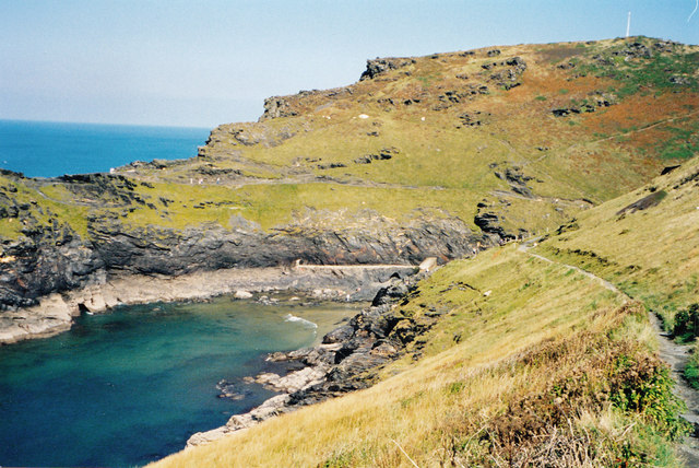 Path to the mouth-Boscastle, Cornwall