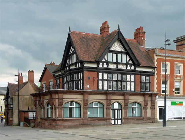 Royal Oak House, Market Place, Derby