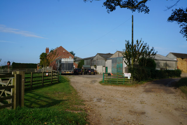 Low Farm on Starra Field Lane