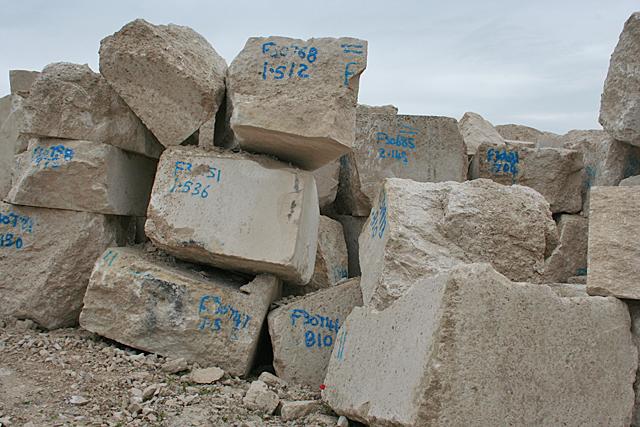 Quarried Blocks
