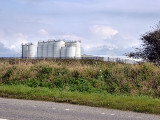 Dairy Crest factory, Camelford