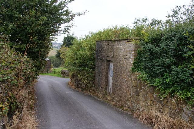 Lane near Hogley Green