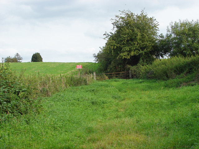 Gateway near Liddington Hall Farm