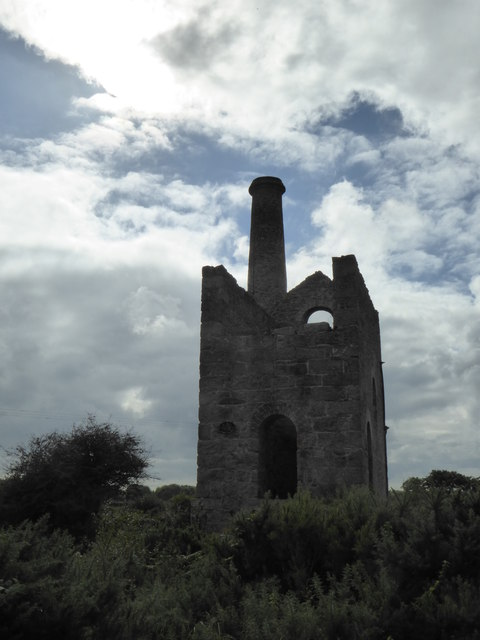 Winding engine house at Troon