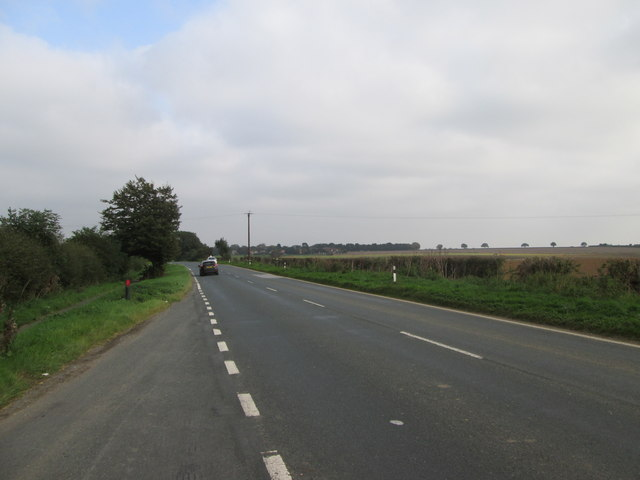 Toward  Beverley  on  the  B1248
