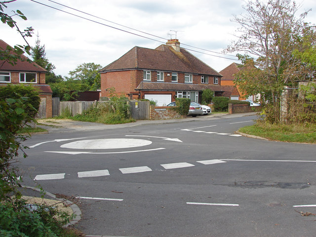 Road junction near Stoughton
