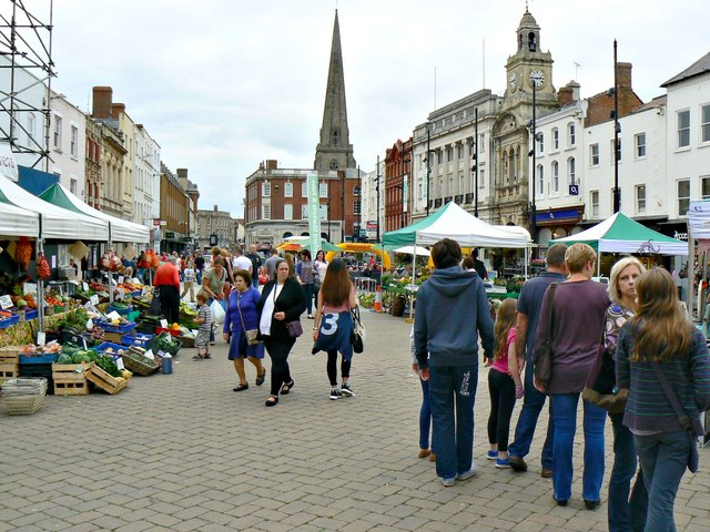 West along High Town, Hereford