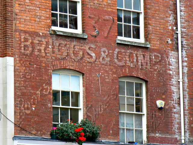Former Briggs & Company shop, Widemarsh Street, Hereford