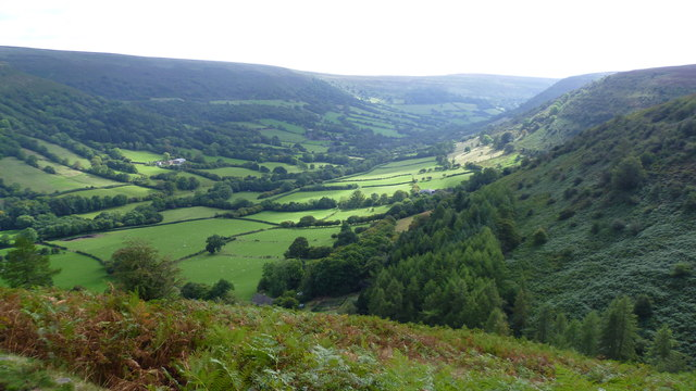 View over the Vale of Ewyas