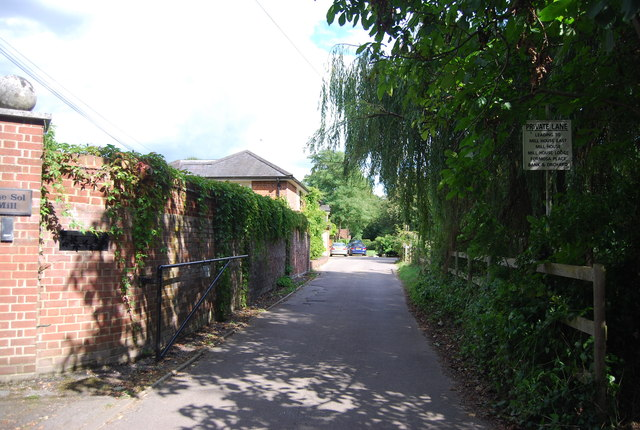 Private Lane to Mill House