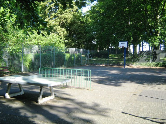 Games court, Wardown Park