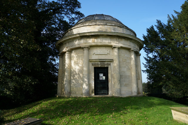 The Mausoleum at Holy Trinity Church, Little Ouseburn
