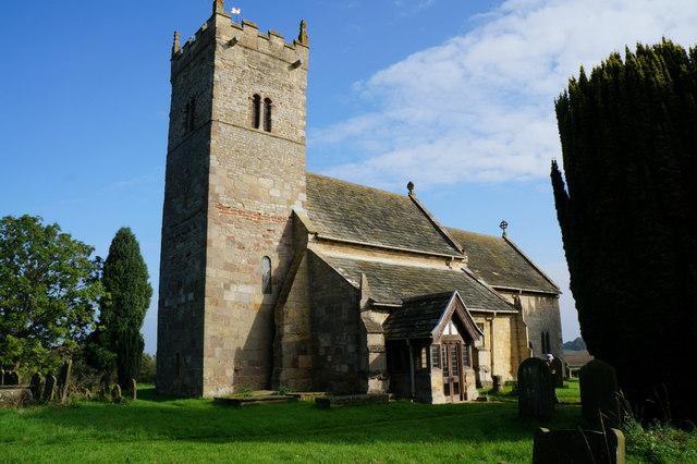 Holy Trinity Church, Little Ouseburn