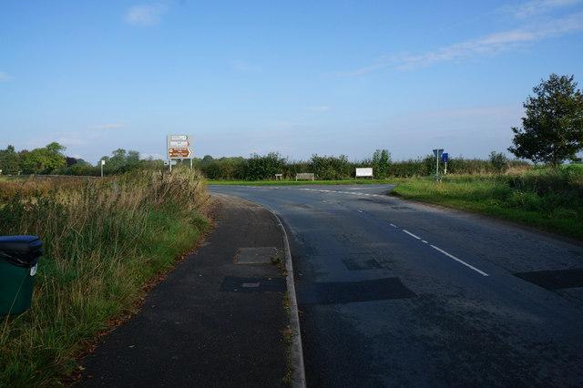 New Road towards Great Ouseburn