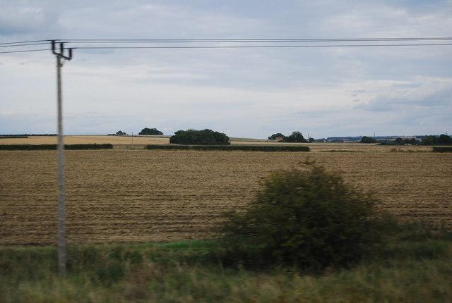 Farmland south of Langford