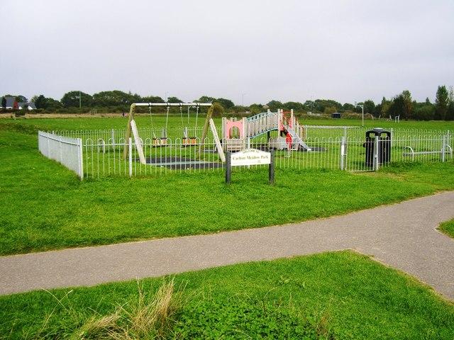 Play area, Carlton Meadow Park