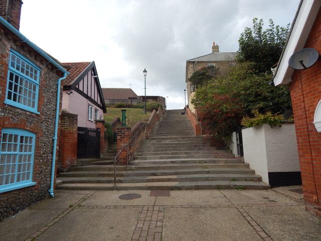Path up to Church Walk