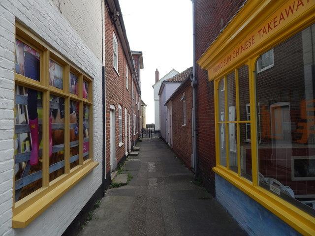 Neptune Alley, Aldeburgh