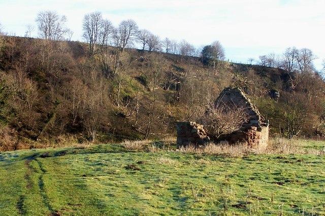 Ruins of a fishing shiel