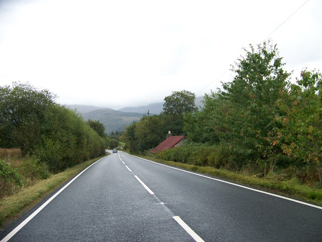 Southbound A828, Strath of Appin